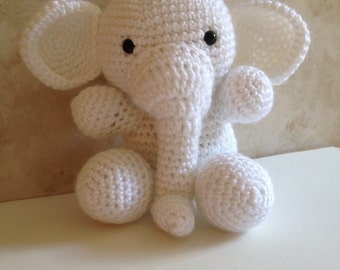 White Elephant Crochet Pattern
