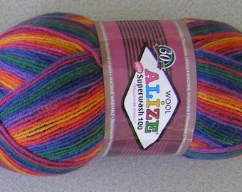 Alize Superwash Sock Yarn, 100g/459 yd, #4409