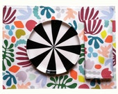 Place Mat // Matisse is my Muse // Set of 2 // Linen Cotton Canvas // or use as Table Napkins