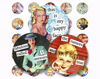 Bonny Ladds Quotes 1 Inch Circle Digital Downloads Scrabble Tiles Digital Collage Sheet Images Words Sayings Typography