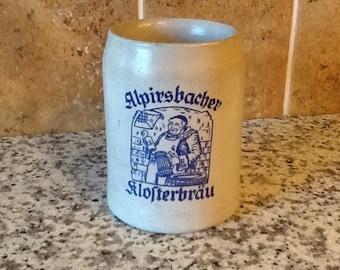 Vintage Alprisbacher Klosterbrau German Beer Mug