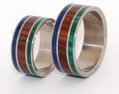 Titanium ring, wedding ring, concrete, mens ring, women's ring, eco-friendly rings, titanium wedding ring - VALLEY