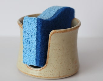 Shino Ceramic Sponge Holder | Made to order