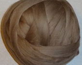 Roving 8oz Merino Wool - Mocha