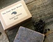 Cowboy Coffee Handcrafted Old Fashioned Lye Soap 4.5 Bar