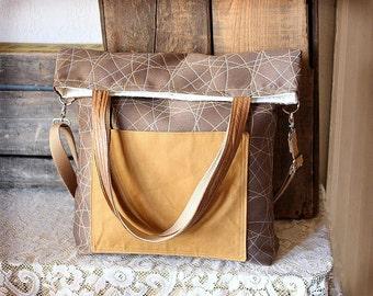 """14"""" canvas crossbody bag/Student Laptop Bag/Messenger bag/ Shoulder bag/ Tote bag/ Weekend bag"""