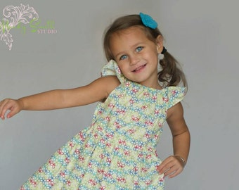 ON SALE! Garden Giggles nelle dress, size 12mos.-8 girls