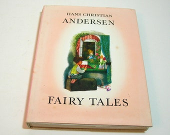 Hans Christian Andersen Fairy Tales Vintage Childrens Book