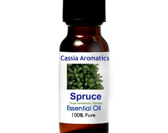 Black Spruce Essential Oil Certified Pure Grade 100% Pure choose your size