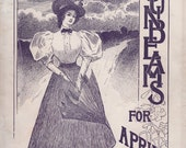 April 1897 Sunbeam Magazine Children Young Adults Stories Articles Archery Cuba