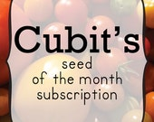 Seed of the Month Club Subscription - Great Last Minute Gift for Gardener and Naturalist