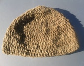 hand spun camel hair hat