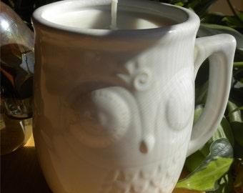 Snowy Owl Vanilla Soy Candle