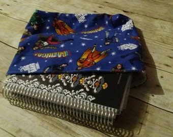 Planner sleeve- Super Nerds *READY TO SHIP*