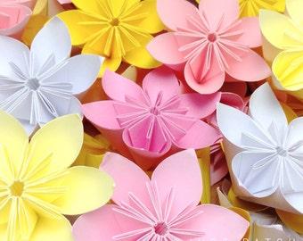 Cherry Blossom  - Origami Folding Flowers - 20 pcs