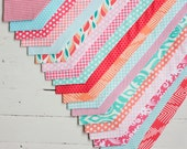 men's coral/mint/peach/blush collection neckties- 19 print selections