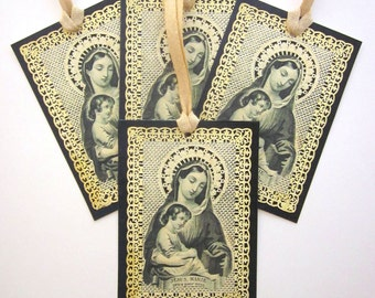Religious Gift Tags Holiday Gift Tags Handmade