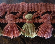 25M / 27.34 Yards of Pretty Vintage French Passementerie Trim / Upholstery / Cushions / Projects