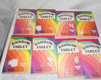 Rainbow Tablet Color paper