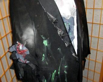 Zombie Groom Costume or Dead Prom King Walking Dead Horror L-XL