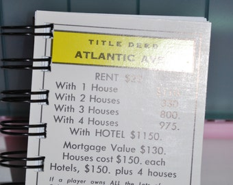 Atlantic Ave Monopoly Notebook