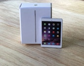 1/12 Silver iPad Air Tablet Computer Toy for dollhouse miniatures or Similar Dolls