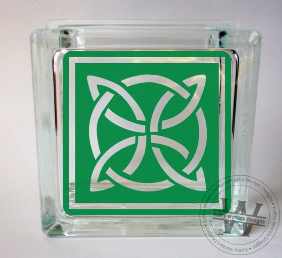vinyl lettering for glass vinyl lettering glass block decal celtic by kwintersdesigns 15847