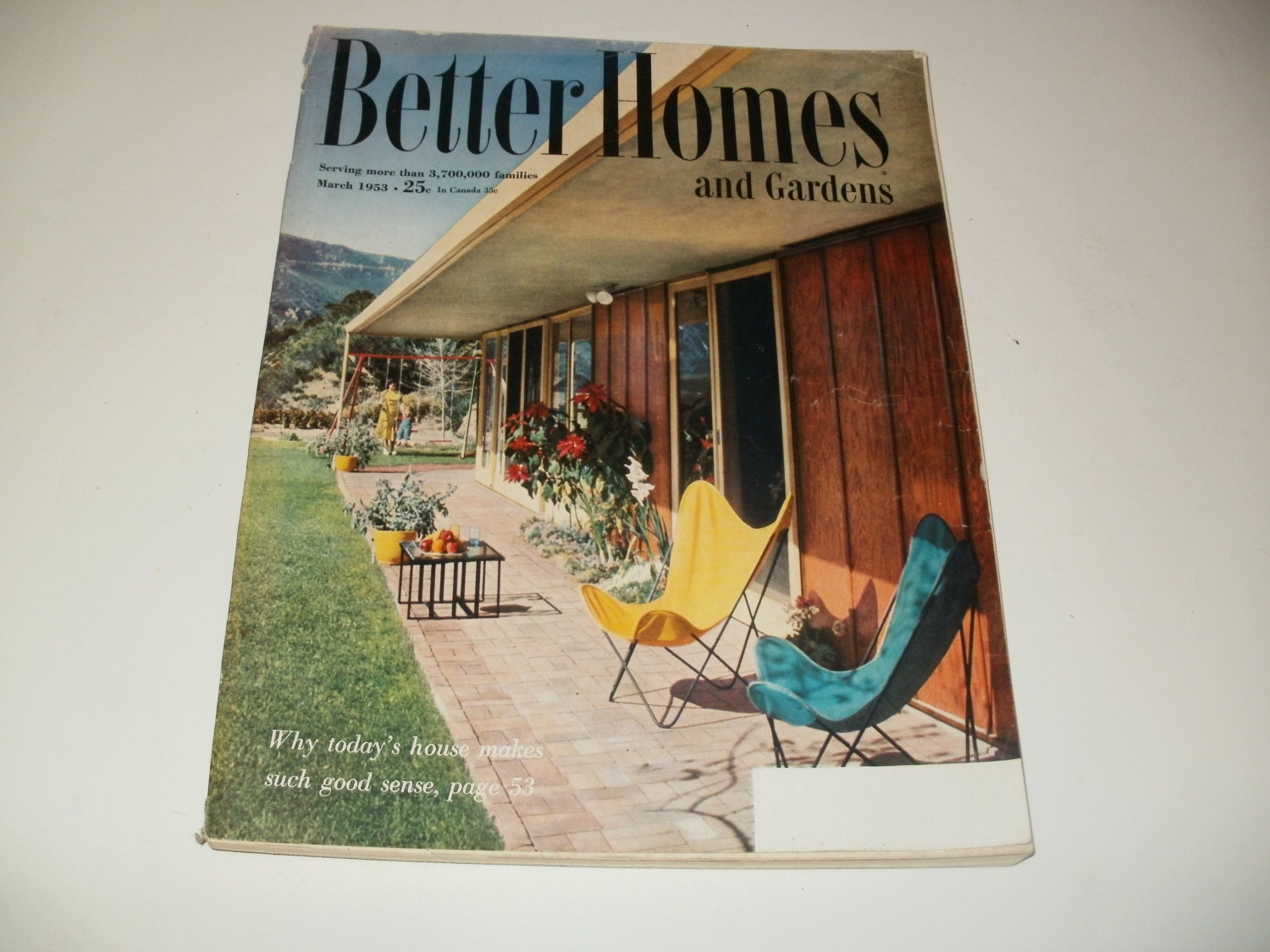 Vintage Better Homes And Gardens Magazine March By Kennyscrafts