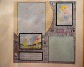Disney - Princess - Cinderella - You Shine 8 x 8 scrapbook page
