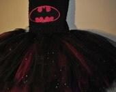 Custom Made Batman Tutu Dress