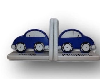 Car Bookends by Pookie Boutique