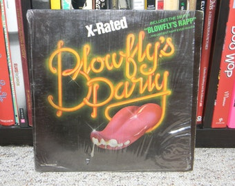 SLEEVE ONLY original blowfly record sleeve no vinyl included x-rated and suitable for framing