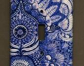 Imari Switchplate cover