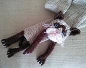 Grumpy Cat scarf