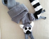 Ring-tailed Lemur Scarf