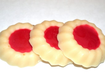 Cookie Wax Ta rts - Raspberry Almond Cookie Scented Wax Melts - Cookie ...