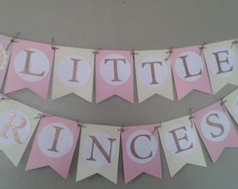 Little Princess Baby shower banner