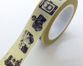 Cute Vintage Camera Washi Tape Photographer Packaging Photography Cameras