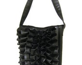 HOLIDAYSALE Bike Tube Holly Book Bag - Recycled Rubber Tote