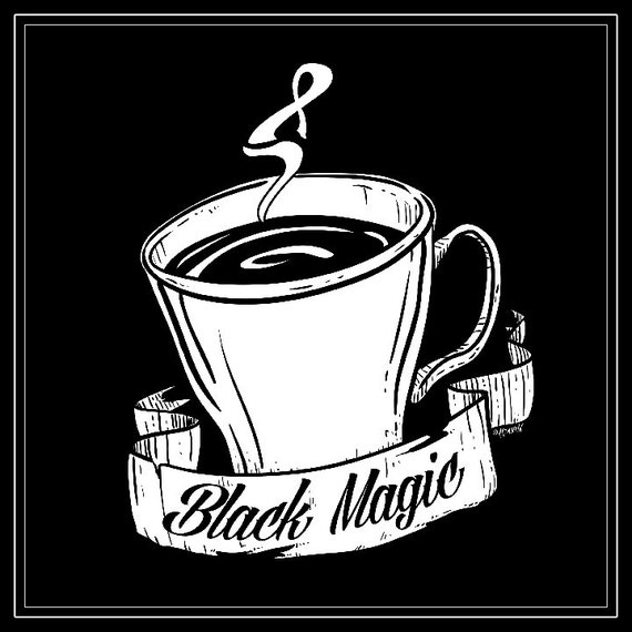 Coffee Lovers! Black Magic coffee print, great for the kitchen!