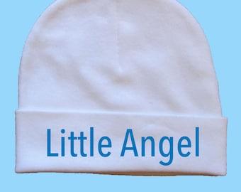 Boy beanie -  baby hat - baby beanie - Hand painted