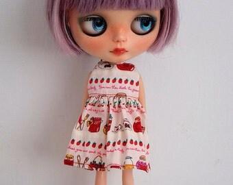 Blythe Flower print simply dress