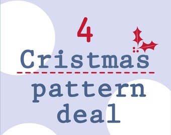 4 Christmas pattern deal