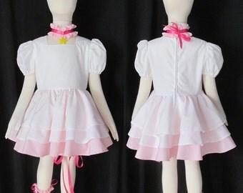Cardcaptor Sakura Angel Cosplay Costume Child Size 9 10 11 12 Card Captor