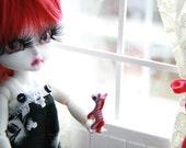 OOAK Custom n. 75 Hujoo white sleepy doll  by Silviacat -