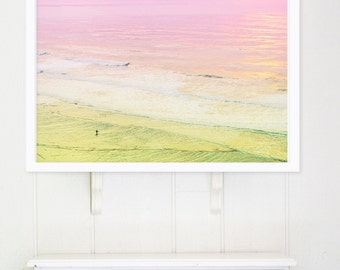 Oversized Art, Large Beach Photography, California Dreamin', Large Wall Art, Ocean Photography, Surf Photography, Large Print, Surfer Beach