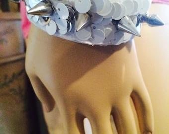 Spike Winter Cuff  Bracelet