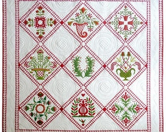 Simply Baltimore Applique Come Quilt Sue Garmen Quilting Pattern