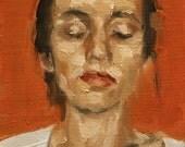 The Unconscious, Art print of original oil painting