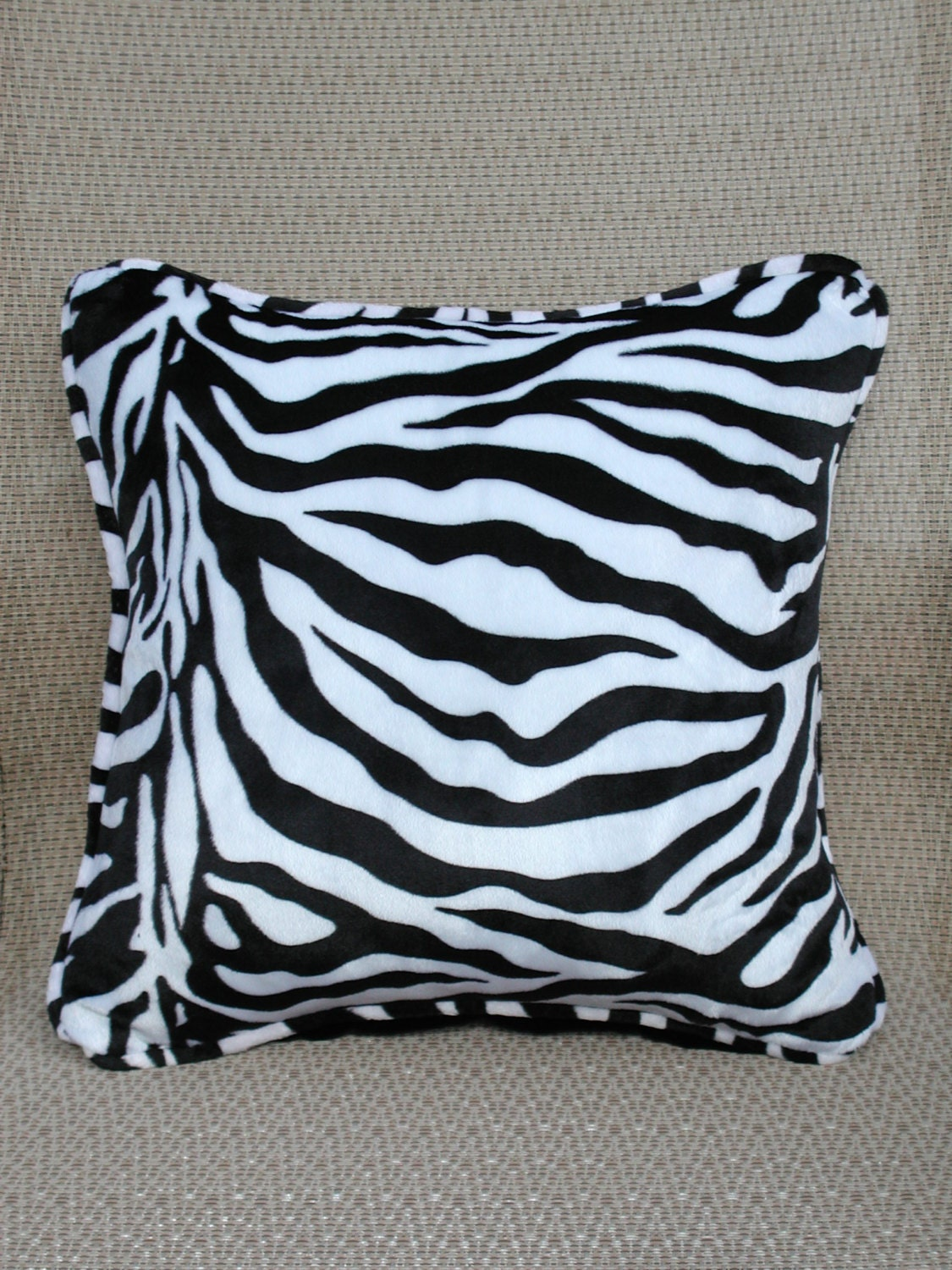 Zebra Throw Pillows Zebra Toss Pillows Luxury Pillows Black